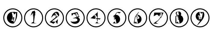 SzeneInFrames Font OTHER CHARS