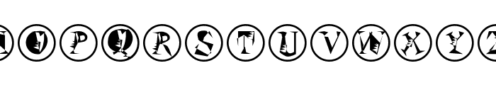 SzeneInFrames Font LOWERCASE