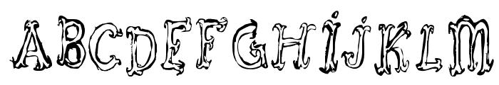 Szorakatenusz Font UPPERCASE
