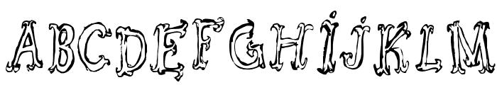 Szorakatenusz Font LOWERCASE