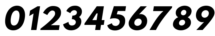 Sztylet Bold Oblique Font OTHER CHARS