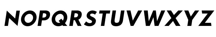 Sztylet Bold Oblique Font UPPERCASE