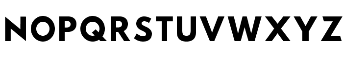 Sztylet Bold Font UPPERCASE