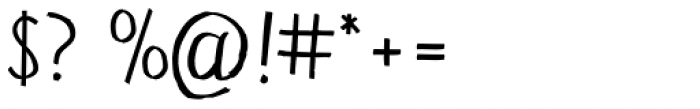 Sztark D Regular Font OTHER CHARS
