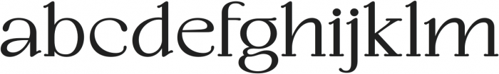 TANCLEMENTINE-Bold otf (700) Font LOWERCASE