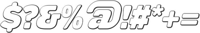 Tabardo Bevel Italic otf (400) Font OTHER CHARS
