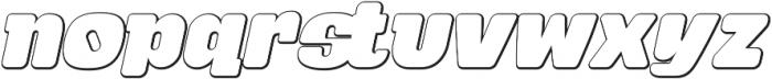 Tabardo Bevel otf (400) Font LOWERCASE