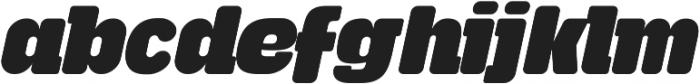 Tabardo Italic ttf (400) Font LOWERCASE