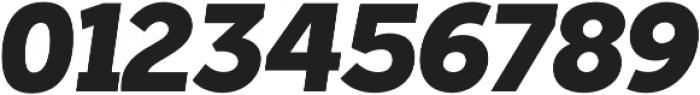 Tabarra Pro Black Italic otf (900) Font OTHER CHARS