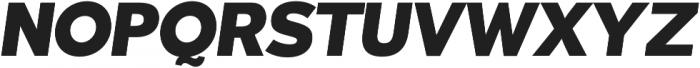 Tabarra Pro Black Italic otf (900) Font UPPERCASE