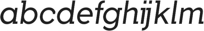 Tabarra Pro Book Italic otf (400) Font LOWERCASE