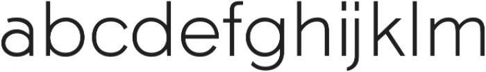 Tabarra Pro Light otf (300) Font LOWERCASE