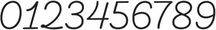 Taberna Script otf (400) Font OTHER CHARS