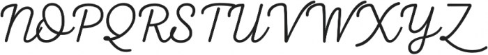 Taberna Script otf (400) Font UPPERCASE