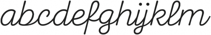 Taberna Script otf (400) Font LOWERCASE