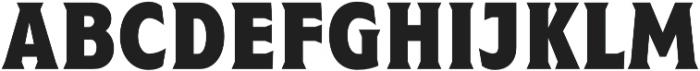 Taberna Serif Black otf (900) Font UPPERCASE