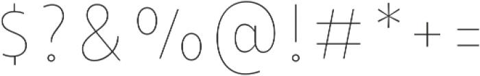 Taberna Serif Regular In L otf (400) Font OTHER CHARS