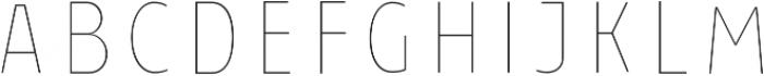 Taberna Serif Regular In L otf (400) Font UPPERCASE
