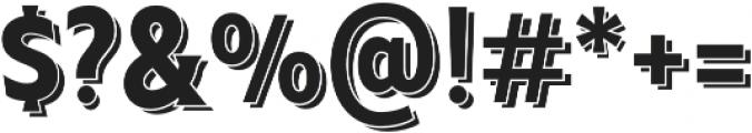 Taberna Serif Regular Sh otf (400) Font OTHER CHARS