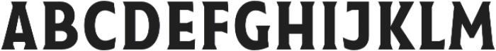 Taberna Serif otf (400) Font LOWERCASE