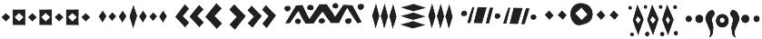 Tabu Font Symbols otf (400) Font OTHER CHARS