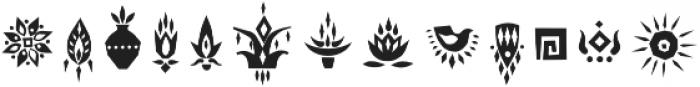 Tabu Font Symbols otf (400) Font LOWERCASE