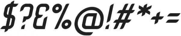 Tachyon otf (400) Font OTHER CHARS