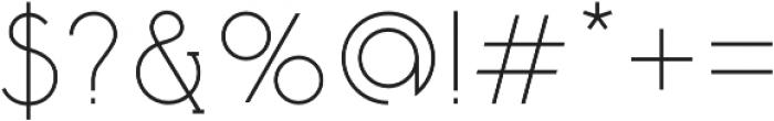Tadaam otf (400) Font OTHER CHARS