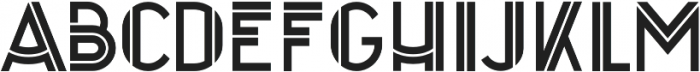 Tagus Regular otf (400) Font UPPERCASE