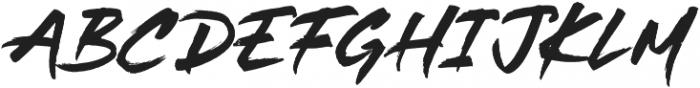 Take Charge SVG otf (400) Font UPPERCASE