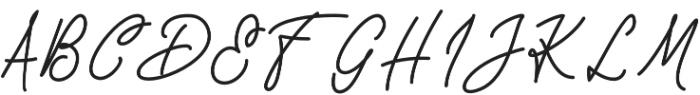 Take Notes otf (400) Font UPPERCASE