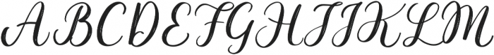 Taleful otf (400) Font UPPERCASE