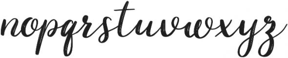Taleful otf (400) Font LOWERCASE