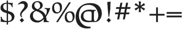 Talimino Regular otf (400) Font OTHER CHARS