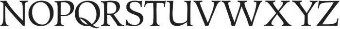 Talimino Regular otf (400) Font UPPERCASE