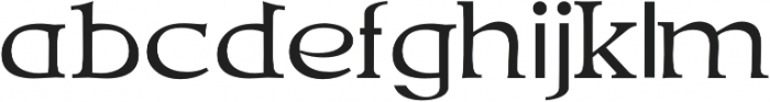 Talimino Regular otf (400) Font LOWERCASE