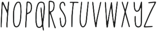 Tall Boy Regular otf (400) Font UPPERCASE