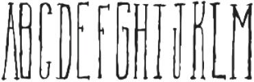 TallAmerican Regular otf (400) Font UPPERCASE