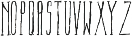 TallAmerican Regular otf (400) Font LOWERCASE