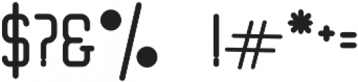Tallo otf (400) Font OTHER CHARS
