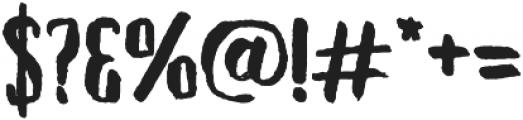 Tallow Sans TC Brush otf (400) Font OTHER CHARS