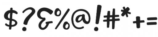 Tallsy Smalls Script otf (400) Font OTHER CHARS