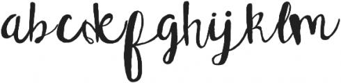 Tallulah ttf (400) Font LOWERCASE