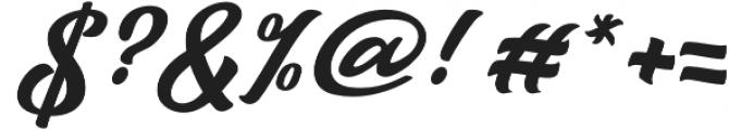 Talmano Italic otf (400) Font OTHER CHARS
