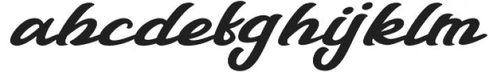 Talmano Italic otf (400) Font LOWERCASE