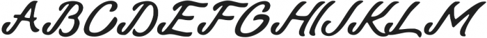 Talmano Rough Italic otf (400) Font UPPERCASE