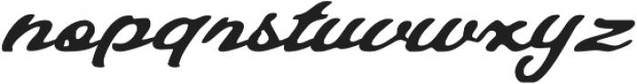 Talmano Rough Italic otf (400) Font LOWERCASE