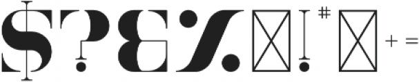 Tamira Regular otf (400) Font OTHER CHARS
