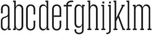 Tamra Light otf (300) Font LOWERCASE