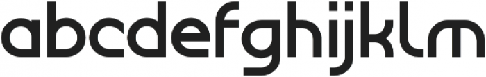 Tangential Bold otf (700) Font LOWERCASE